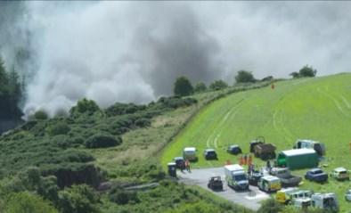 Trein ontspoord in Schotse Aberdeenshire, zeker een dode