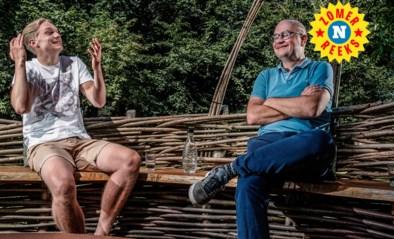 """Kobe Rzoska interviewt papa Björn: """"De volgende verkiezing mag je nog hebben. Daarna is het aan mij"""""""