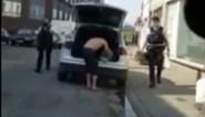 Man op klaarlichte dag betrapt terwijl hij steelt uit politiewagen in Charleroi