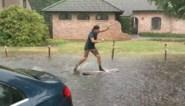 Hevig onweer boven Antwerpen en Limburg: wateroverlast en waterpret