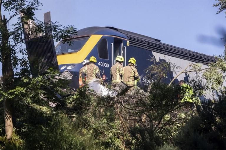 Trein ontspoord in Schotse Aberdeenshire: drie doden