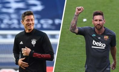 Robert Lewandowski wil tegen Lionel Messi laten zien dat hij de beste van de wereld is
