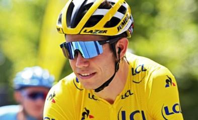 """Leider Wout van Aert rijdt vandaag in dienst bergop in de Dauphiné: """"Mijn gele trui is vrij soepel, er kunnen wel wat bidons in"""""""