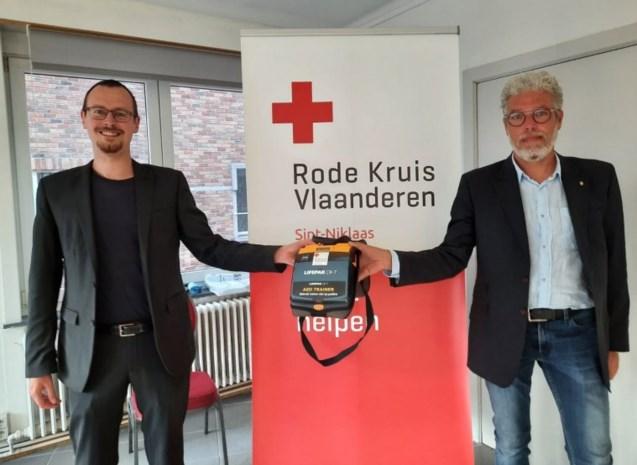Kiwanis steunt Rode Kruis