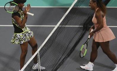 Afscheid van een tijdperk: Venus en Serena Williams staan voor de 31ste keer tegenover mekaar