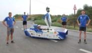 """Wereldkampioenen zonnewagenracen trainen op nieuwe 'patattenweg': """"Ideale baan om wagen te testen"""""""
