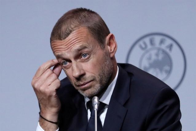 """UEFA-voorzitter Aleksander Ceferin ziet geen toekomst voor 'Final 8' Champions League: """"De kalender zit al overvol"""""""
