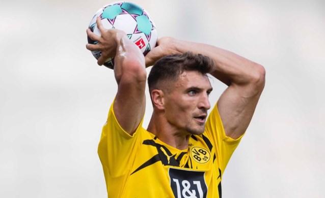 Voor het eerst in zwart en geel: Thomas Meunier debuteert bij Borussia Dortmund