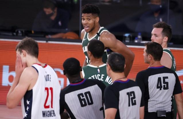 NBA is mild voor Antetokounmpo: slechts één match geschorst na zijn kopstoot tegen Washington