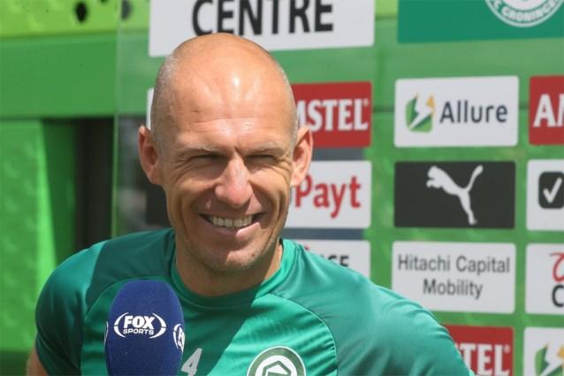 """Geplande rentree van blessuregevoelige Arjen Robben bij FC Groningen uitgesteld: """"Lichte spierpijn en stijfheid"""""""