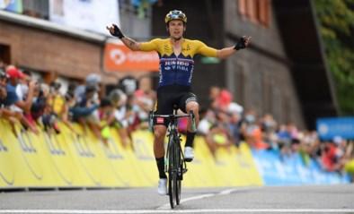 Gele Wout van Aert verricht geweldig knechtenwerk in de Dauphiné, Roglic deelt nog maar eens een tik uit aan Bernal
