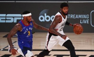 LA Clippers zijn na zege tegen Denver zeker van tweede plaats in Western Conference