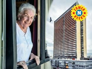 """Mia Ramaut (84), bloem van het Europacentrum: """"Ja, ik heb moorden, staatsgrepen en avondklokken gekend. Maar ik ben altijd gelukkig geweest"""""""