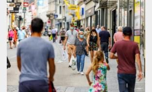 Dragen mondmasker in binnenstad niet meer permanent verplicht