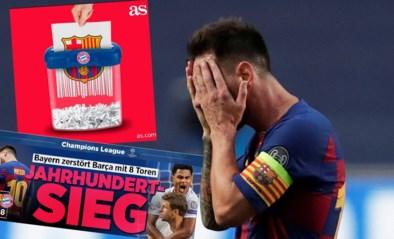 Titels liegen er niet om na Barcelona-Bayern: 'Zege van de eeuw' versus 'Historische slachting'