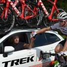 Een val in de Ronde van Polen nekt Mads Pedersen