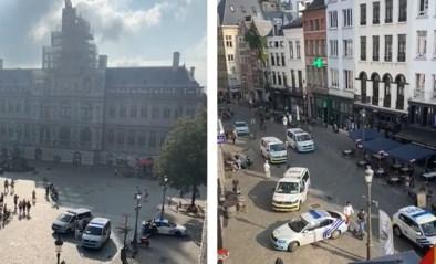 Schietincident op Grote Markt in Antwerpen