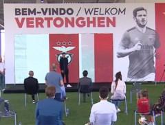"""Jan Vertonghen voorgesteld bij Benfica: """"Alleen maar lovende woorden van Witsel en hij heeft nog niet gelogen"""""""