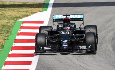 Lewis Hamilton snelste tijdens tweede oefensessie GP van Spanje