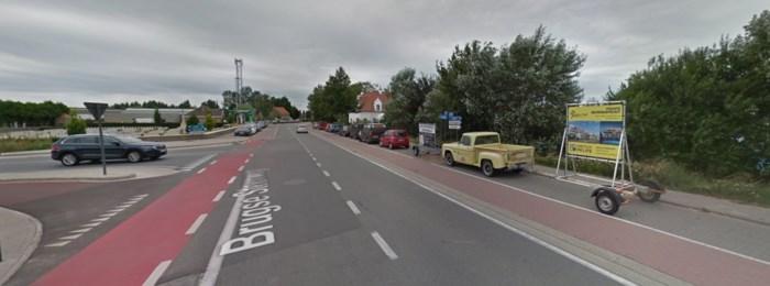 Straat even afgesloten nadat motard aangereden werd