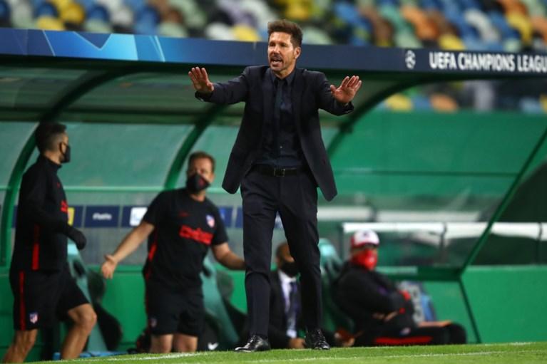 """Diego Simeone krijgt het te verduren na CL-verlies tegen RB Leipzig: """"Zwartste vlek in de geschiedenis als Atletico-coach"""""""