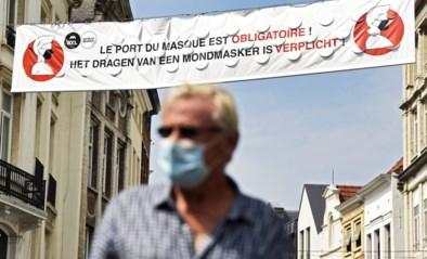 Ook Brussel kleurt donkeroranje op kaart ECDC