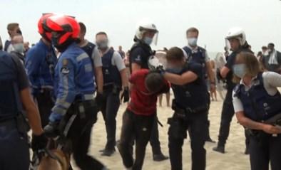 17-jarige opgepakt in Schaarbeek die eerder ook al gearresteerd werd voor rellen in Blankenberge