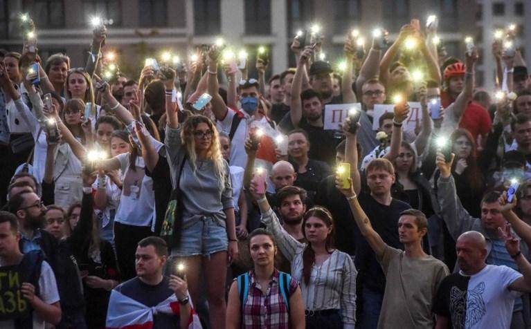 Duizenden Wit-Russen verzamelen voor openbare omroep