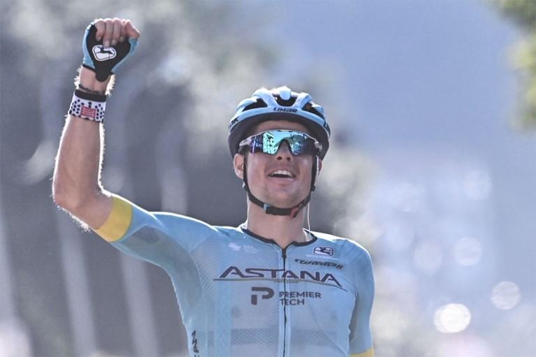 Jakob Fuglsang de sterkste overlever in bewogen Ronde van Lombardije