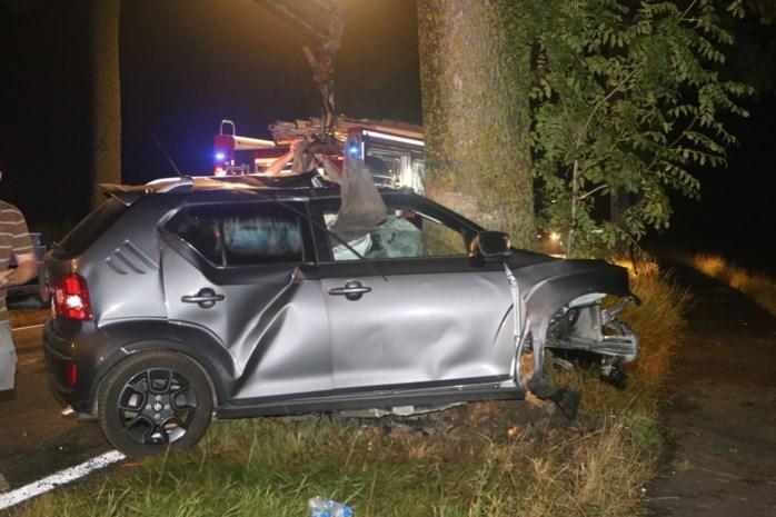 Vijftiger overleden na klap tegen boom op Keiberg