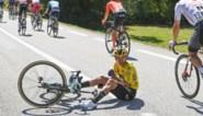 Tourfavorieten vallen als vliegen in de Dauphiné: nu geeft ook leider Roglic op door gevolgen van valpartij