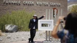 54,5 graden in Death Valley, mogelijk hoogste temperatuur ooit