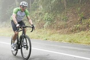 Diabeet David (35) uit Kessel-Lo rijdt 'Mount Everest' in Huldenberg