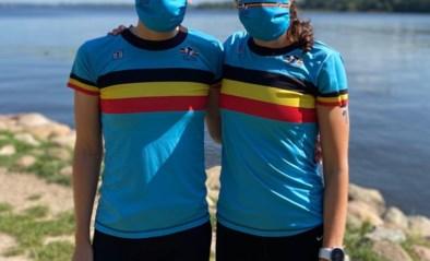 Valérie Barthelemy en Claire Michel domineren hun eerste sprinttriatlon sinds corona-uitbraak