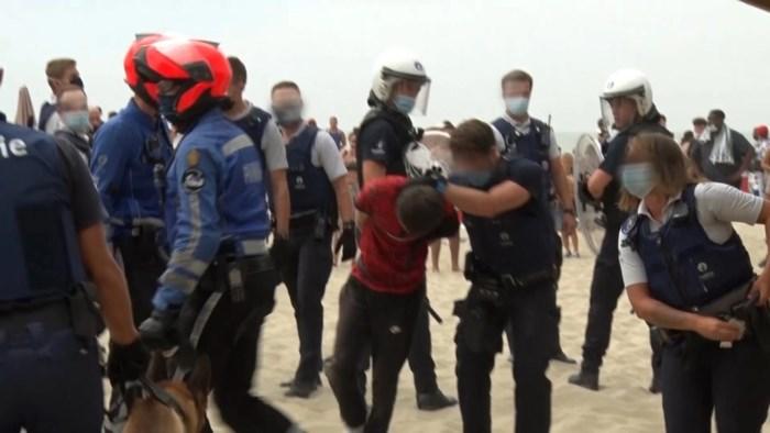 """Verdachte van rellen in Blankenberge blijft ontkennen: """"Die witte zwembroek hebben ze zelfs niet gevonden"""""""