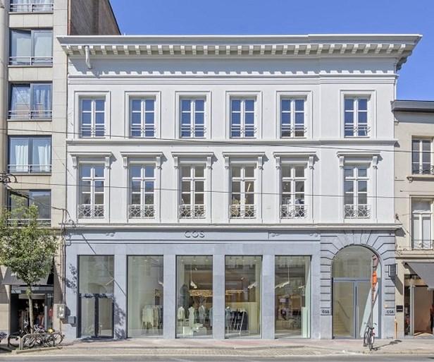 COS heeft nieuwe flagshipstore geopend in Antwerpen
