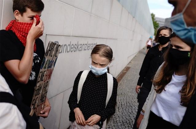 """Greta Thunberg en co ontmoeten Merkel: """"Jullie pakken onze toekomst af"""""""