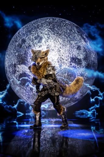 VTM onthult vermommingen van de eerste drie deelnemers aan 'The masked singer': Wolf, Libelle en Koningin
