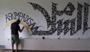 Nieuw Gents kunsthoekje: muurschilderingen in tunnel van Herberg Macharius