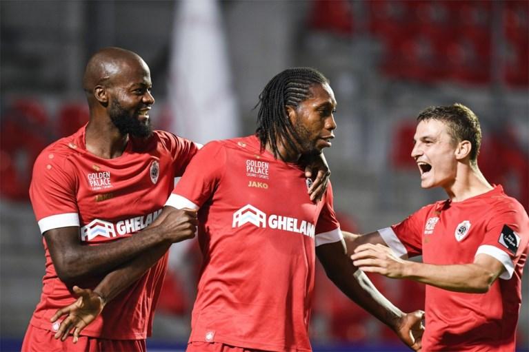 Antwerp boekt eerste zege van het seizoen, AA Gent blijft met historisch slechte 0 op 9 achter