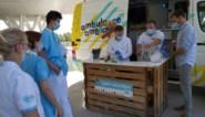 Na de inspanning, de ontspanning: ziekenhuis trakteert personeel op frisse cocktail