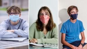 Een accessoire rijker, maar een overlevingsmechanisme armer: tieners over dragen van mondmasker in de klas