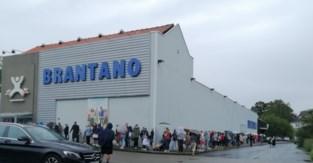 Ook Brantano in Zwalm overrompeld door koopjesjagers