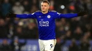 Leicester City rekent tot 2023 op de doelpunten van Jamie Vardy