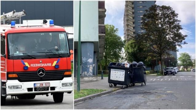 """Brandweer bekogeld met flessen tijdens interventie in Molenbeek: """"Lijkt erop dat we in de val werden gelokt"""""""