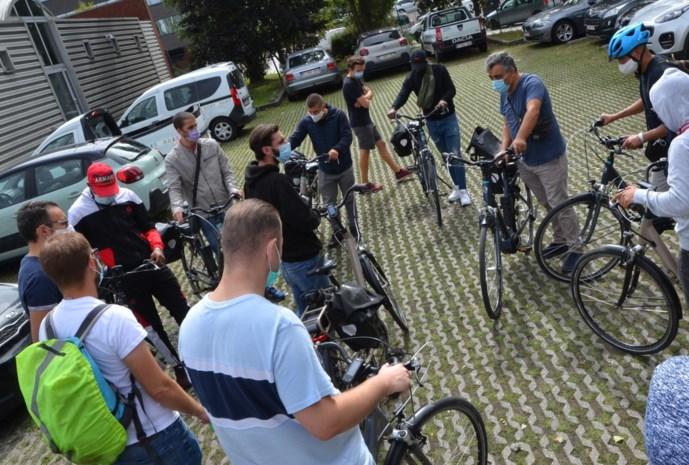 Personeel van Net Brussel kruipt op de fiets