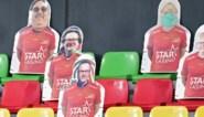 KV Oostende-supporters dollen met Marc Coucke tijdens wedstrijd tegen Anderlecht