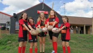 """Rugbyclub start aparte ploeg voor meisjes van eerste tot derde middelbaar: """"Rugby is een sport voor ieder postuur"""""""