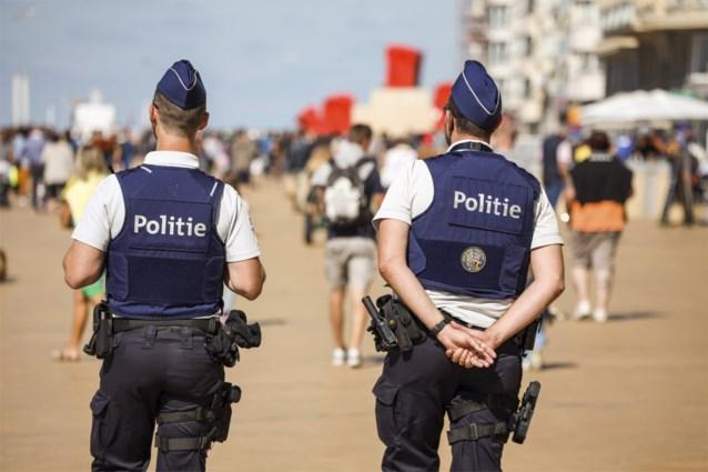 Politieaanwezigheid aan de kust dit weekend verder opgevoerd