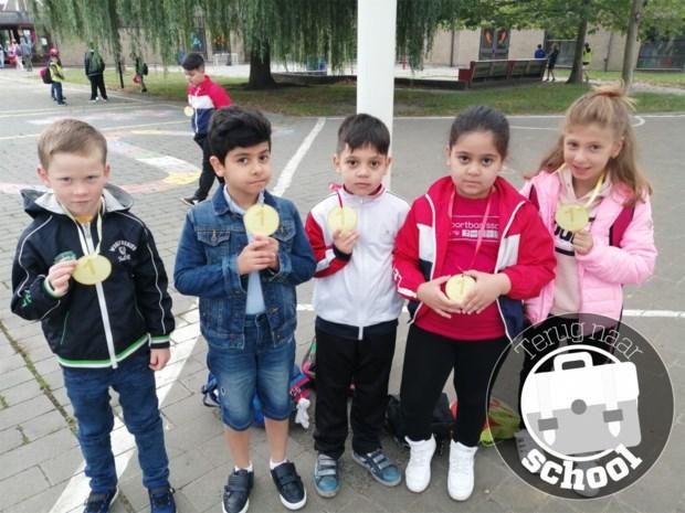 Olympische Spelen kleuren start in sportbasisschool